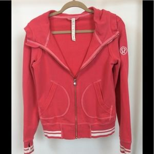 Lululemon Flashback Hoodie in Passion Color